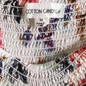 Cotton Candy Shorts - Cotton Candy LA Soft Flouncy Short Sz M - M25